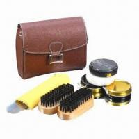 Cheap Shoe care kit, made of PU for sale