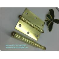 Cheap Heavy Duty Ball Tip Hinges , Loose Pin Hinges Light Weight Customized Size for sale