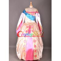 Cheap Wholesale Anastasia Princess Dress Costume Cosplay dress Cartoon Movie Character Costumes for sale