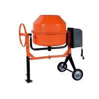 China 230L Motor concrete mixer for construction 1KW 28 small volume , high eficiency on sale