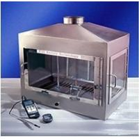 Mirror Stainless Steel Horizontal Flammability Tester Building Material Square Box Vent