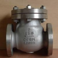 Cheap stainless steel swing check valve for industry for sale