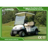 Buy cheap EXCAR Trojan battery 2 Seater Used Electric Golf Carts 48V 275A golf buggy from wholesalers