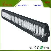 Cheap 260W 43 Inch Single-Row LED Light Bar for Commercial Vehicles for sale