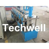 Buy cheap Hydraulic Cutting, 8 - 11 Stations, Steel Angle Roll Forming Machine TW-L50 from wholesalers
