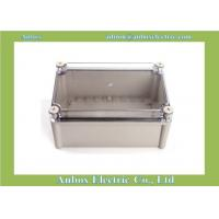 Cheap 280*190*130mm wholesale IP65 PCB Enclosure with clear lid waterproof case manufacturer for sale