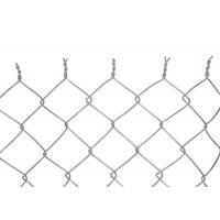 Cheap Garden Hot Dipped Galvanized Chain Link Fence 2.87mm Twist Knuckled End for sale