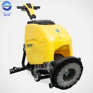 Cheap Walk behind Electric Floor Scrubber Dryer Multipurpose 220V - 230V for sale