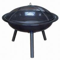 Cheap Outdoor/Popular Design Garden Metal Fire Pit, Sized 73 x 73 x 62cm for sale