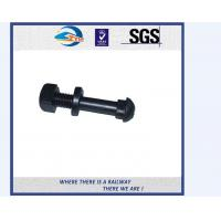 Quality TS16949 Approved Truck Bolt And Nut / Railway Fastener T Bolts With Gray Phosphating wholesale