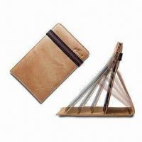 Cheap E-book Reader Case, Made of Leather, Comes in Stylish Design for sale