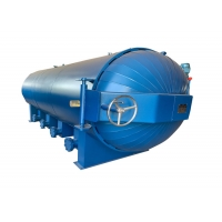 Buy cheap Q345R 14m3 12mm Thickness Impregnated Wood Autoclave from wholesalers