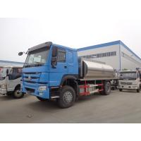China Howo 266hp 10 Tons Tanker Truck Trailer Modified Bitumen Distributor Truck on sale