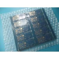 "Cheap Matt Blue Double Sided PCB 0.8mm Thick 4u"" Routing and V - cut for Profile wholesale"