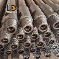 China Tungsten Carbide Pre Hardened Drill Rod Thread Types With Hex 22 - 25mm Diameter on sale
