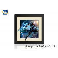 Cheap Indoor Wall Art 5D Pictures Glossy / Matt / Offset Surface Effect No Harm Material for sale