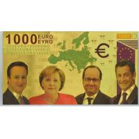 Cheap 1000 Euro Bank Note Colored European Bill for sale
