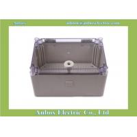 Cheap 300x200x160mm ip65 PC Clear electrical distribution box size and price wholesale for sale