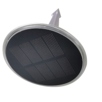 China Solar floor Lights, 8 LED Outdoor Solar Disk Lights, Waterproof In-Ground Lights, Solar Garden Lights, Landscape Lights on sale