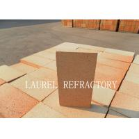 Cheap Large Fire Clay Brick For Furnace / Kiln Good Thermal Shock Resistance for sale
