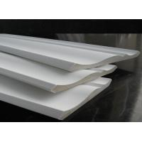 China MDF Moulding covered with gesso, MDF crown molding, primed MDF crown moulding on sale