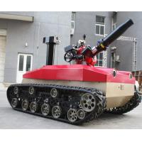 Buy cheap Explosion Proof Fire Fighting Robot 1.76kw Motor * 2 High Temperature Resistance from wholesalers