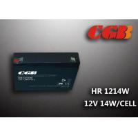 Cheap 12V 3AH HR1214W Energy Storage Battery , High Rate Discharge battery Maintenance Free wholesale