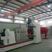 Quality 9500MM Length Johnson Wire Screen Welding Machine For Pulp / Paper wholesale