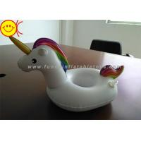 Buy cheap Mini Inflatable Water Floats Magical Style Unicorn Cup Holder Eco - Friendly PVC from wholesalers