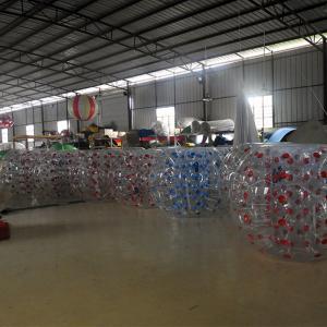 Cheap 1.5M Transparent  Inflatable Bumper Bubble Ball/Inflatable Bumper bBall  In The Grass for sale