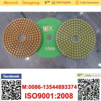 Cheap 100mm Marble Diamond Soft Polishing Pads Resin Buffing Pad For Polishing Machine for sale