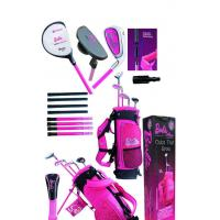 Cheap Barbie 2011style children golf club set middle size and big size for sale