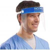 Cheap CE FDA Approval Clear Plastic Face Shield , Full Face Shield Environmental Firendly for sale