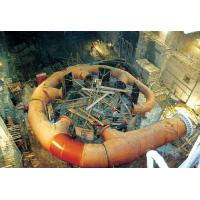 Vertical Shaft Impulse Water Turbine Pelton Hydro Turbine with 4 Nozzles for High Head Hydropower Project