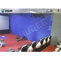 Cheap Interactive Shooting 7D Cinema Set Up In Parks And Playgrounds With Immersive Experience for sale