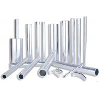 Cheap 6082 Aluminum Rectangular Tubing , Industrial Moulding Thick Wall Aluminum Tubing for sale