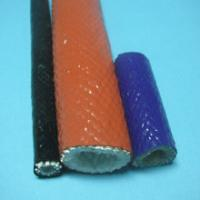Fire Resistant Fiberglass sleeving coated with silicone rubber