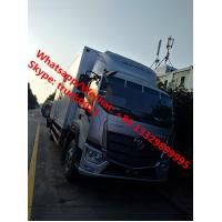 Cheap 2019s new design FOTON AUMARK Euro 5 cold room truck, refrigerated van truck for fresh vegetables and fruits for sale for sale