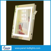 China Frameless Square Led Bathroom Mirror , led bathroom mirrors with demister on sale