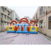 Cheap Double And Quadruple Stitched Inflatable Obstacle Course For Children for sale