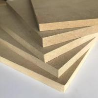 Cheap Thickness 1.8 - 30mm Melamine Faced MDF Board 8% - 14% Moisture Content for sale
