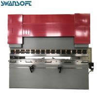 Cheap SWANSOFT easy maintenance precision steel sheet press break 400T 6000 bending machine for sale