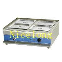 Heavy duty stainless steel electric bain marie BM-4T