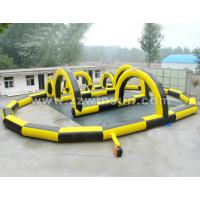 Cheap 0.55mm PVC HOT inflatable Cheap racing go karts for sale for sale