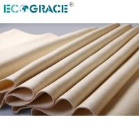 China Air Filter Material Needle Felt Filter Aramid / Nomex / PPS / Fiberglass PTFE on sale