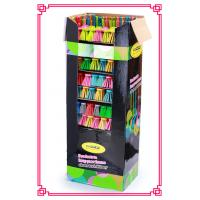 Buy cheap Broom Advertising Cardboard shelf display boxes with Handle Set from Wholesalers