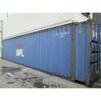 Cheap Dry Used 40ft Shipping Container For Cargo Overseas Transport for sale