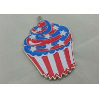 Cheap Zinc Alloy Engraving Carnival Medalby Antique Nickel Plating With Color Clown Logo for sale