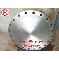 Cheap ASTM B564 UNS N04400  UNS N06600 nickel alloy forged blind  flange ASME B16.5 wholesale