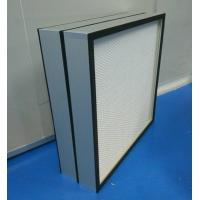 Buy cheap Mini Pleated Clean Room HEPA Filters CE UL FM Certification for food&beverages from wholesalers